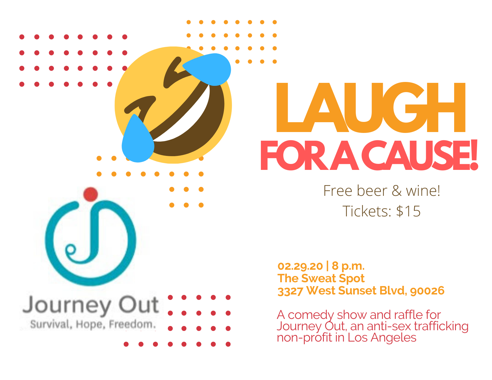 Laugh for a Cause Fundraiser